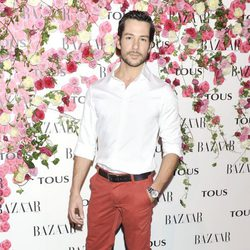 Alejandro Albarracín en la fiesta de presentación del perfume 'Rosa'