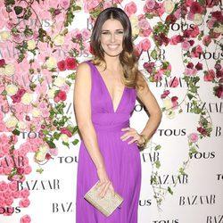 Natasha Yarovenko en la fiesta de presentación del perfume 'Rosa'