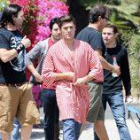 Zac Efron en el rodaje de 'Townies'