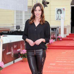 Dafne Fernández en la presentación de 'Solo para dos' en el Festival de Málaga 2013