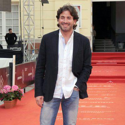 Antonio Garrido en la presentación de 'Solo para dos' en el Festival de Málaga 2013