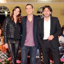 Dafne Fernández, Roberto Santiago y Antonio Garrido presentan 'Solo para dos' en el Festival de Málaga 2013