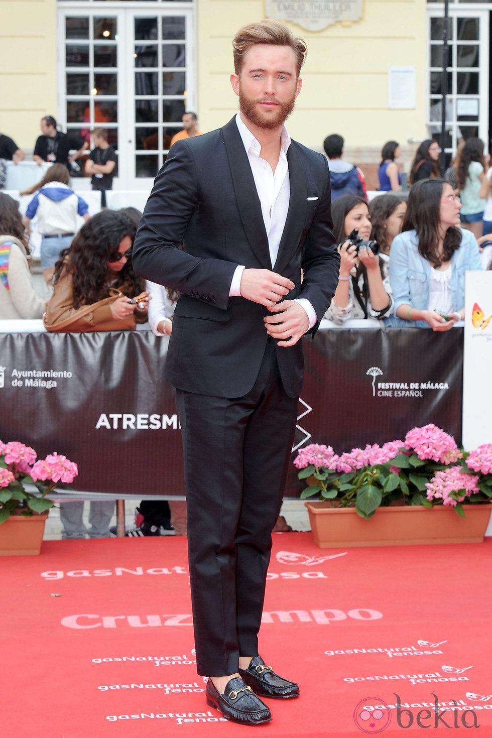 Pablo Rivero en la presentación de 'Viral' en el Festival de Málaga 2013