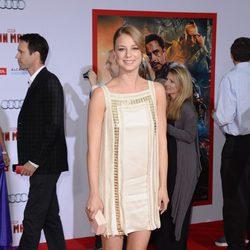 Emily VanCamp en el estreno de 'Iron Man 3' en Los Ángeles