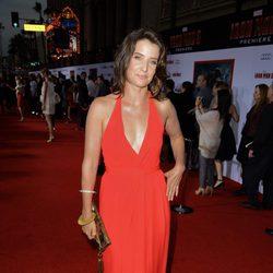 Cobie Smulders en el estreno de 'Iron Man 3' en Los Ángeles
