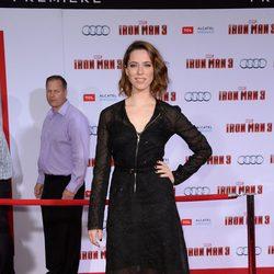 Rebecca Hall en el estreno de 'Iron Man 3' en Los Ángeles