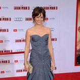Stephanie Szostak en el estreno de 'Iron Man 3' en Los Ángeles