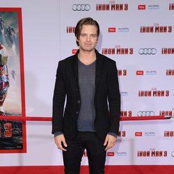 Sebastian Stan en el estreno de 'Iron Man 3' en Los Ángeles