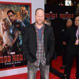 Joss Whedon en el estreno de 'Iron Man 3' en Los Ángeles
