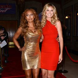 Heidi Klum y Melanie Brown en la octava temporada de 'America's Got Talent'
