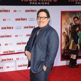 Jon Favreau en el estreno de 'Iron Man 3' en Los Ángeles