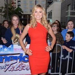 Heidi Klum en la octava temporada de 'America's Got Talent'