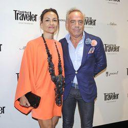 Joaquín Torres y su mujer Mercedes Rodríguez en los Premios Conde Nast Traveller 2013