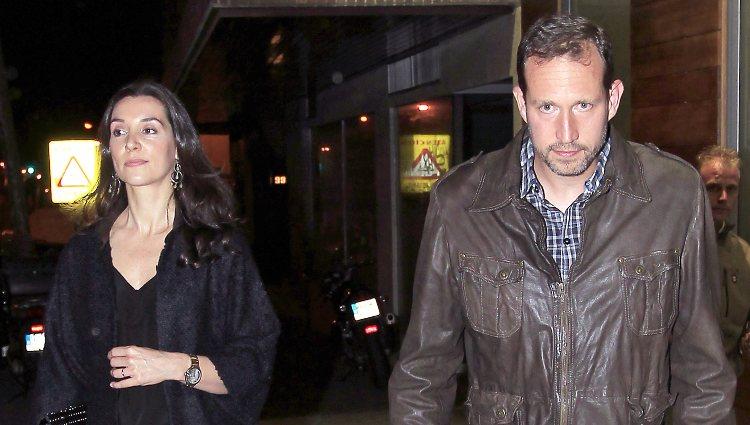 Bruno Gómez-Acebo y Bárbara Cano en el 39 cumpleaños de Luis Alfonso de Borbón