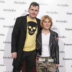 Antonia San Juan y Luis Miguel Seguí en el estreno del cortometraje 'Ruido'