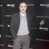 Carlos Areces en el estreno de 'Combustión'
