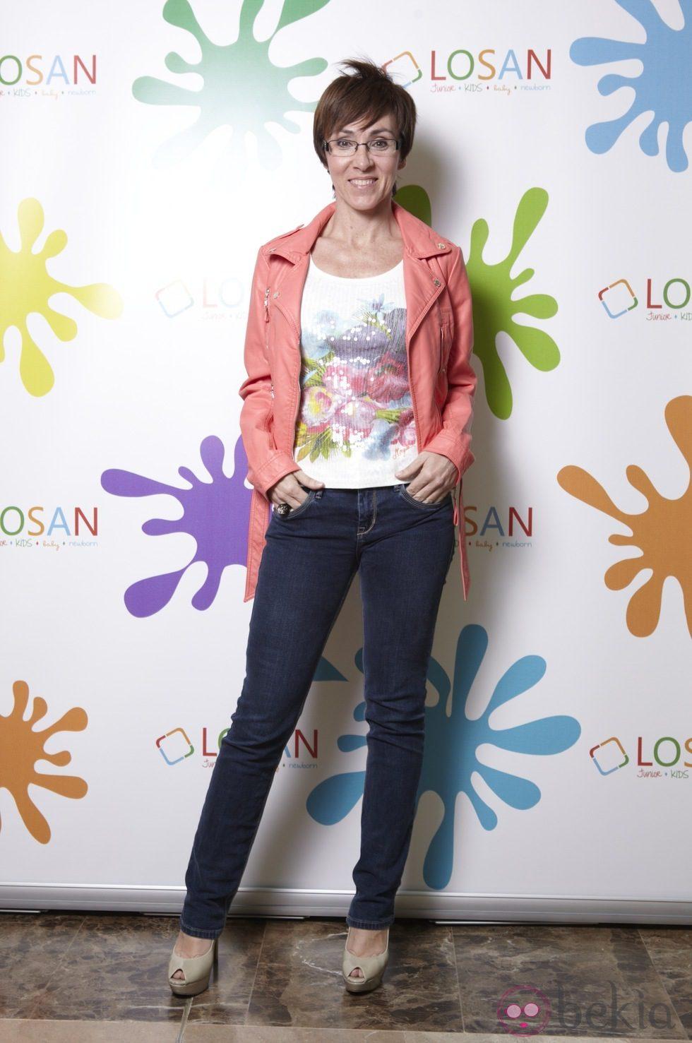La coreógrafa Lola González en la inauguración de LOSAN KIDS en Madrid