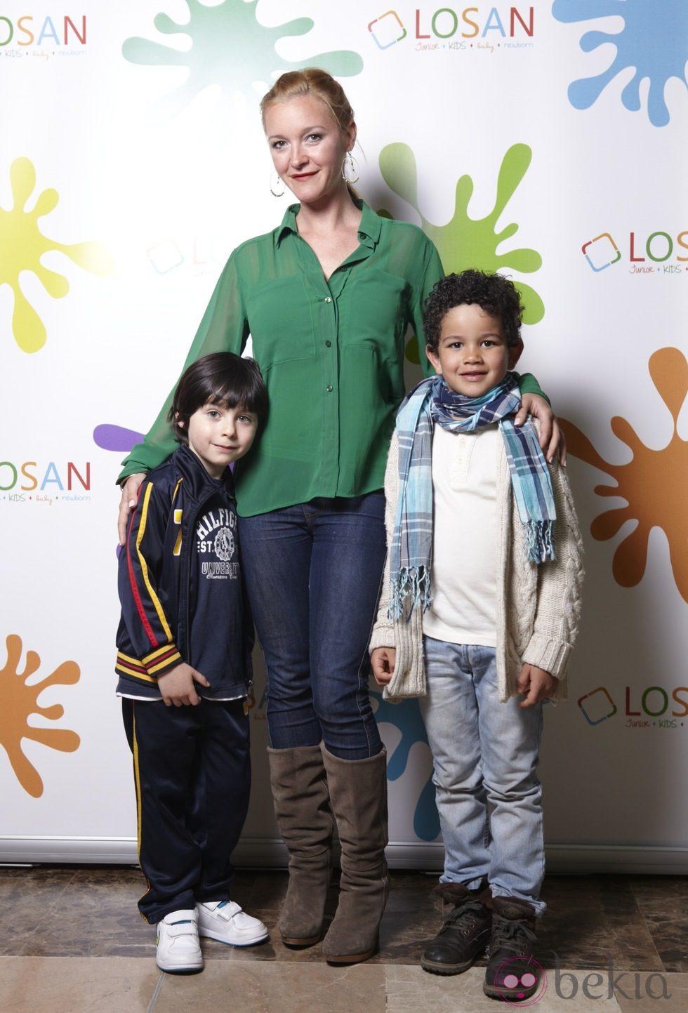 La actriz María Esteve en la inauguración de LOSAN KIDS en Madrid