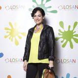 La actriz Rocío Muñoz en la inauguración de LOSAN KIDS en Madrid