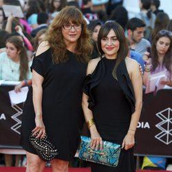 Isabel Coixet y Candela Peña en la clausura del 16 Festival de Málaga