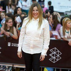 Pepa Charro en la clausura del 16 Festival de Málaga