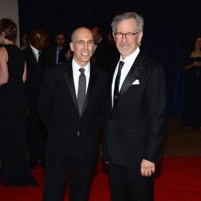 Steven Spielberg en la 2013 White House Correspondents' Association Dinner
