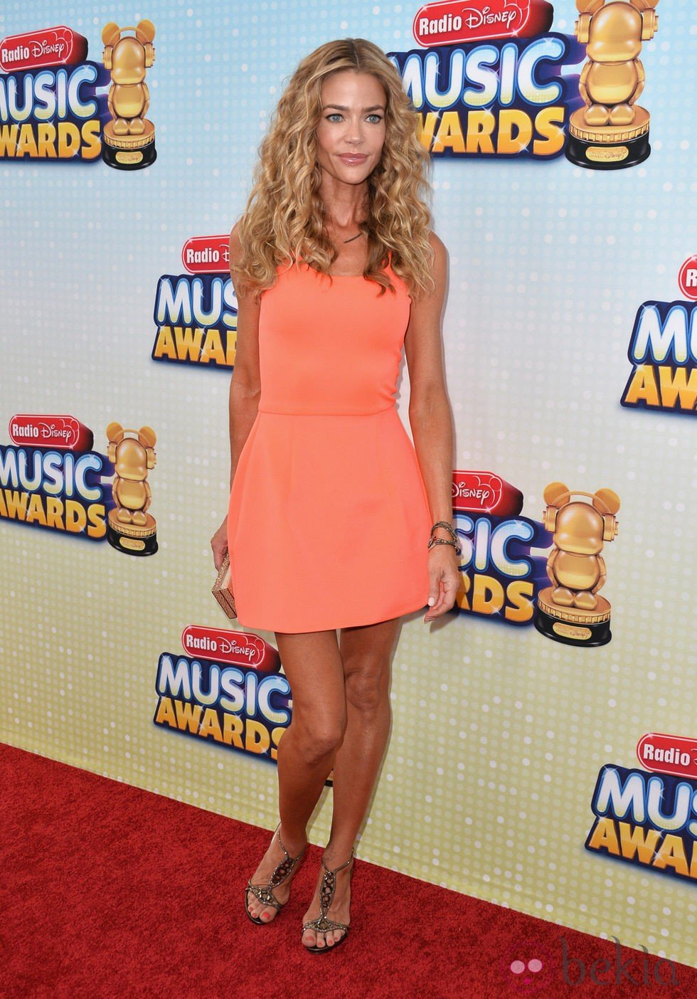 Denise Richards en los Radio Disney Music Awards 2013