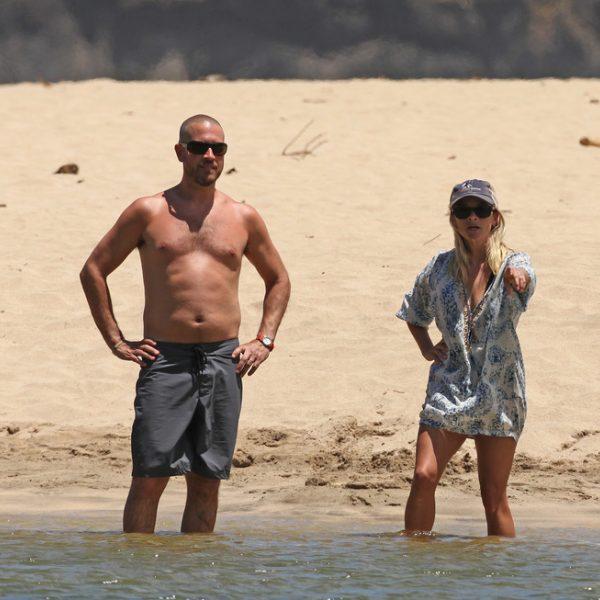 Reese Witherspoon, vacaciones familiares en Hawai