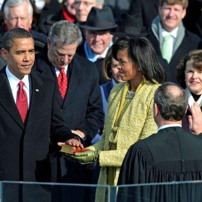 Barack Obama toma posesión como presidente de Estados Unidos en 2009