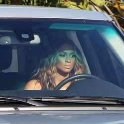 Ciara llega a la boda de Kim Kardashian