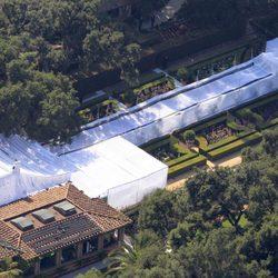 Kim Kardashian celebra su boda en el hotel Four Season