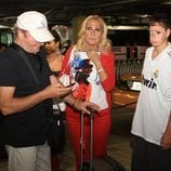 Rosa Benito y su familia llegan a Miami