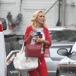 Rosa Benito en las calles de Miami