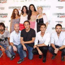 Los protagonistas de la película 'Lo contrario al amor'