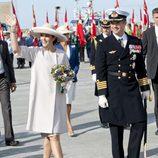 Federico y Mary de Dinamarca de crucero por Dinamarca