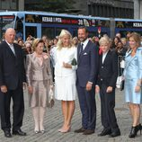 La Familia Real de Noruega en el 10 aniversario de Haakon y Mette Marit de Noruega