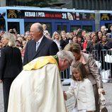 Ingrid Alexandra de Noruega en el 10 aniversario de Haakon y Mette Marit