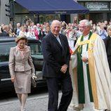 Los Reyes de Noruega en el 10 aniversario de boda de Haakon y Mette-Marit