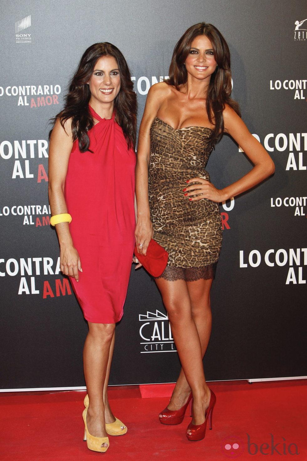 Anterior Alicia Senovilla y Romina Belluscio en el estreno de 'Lo contrario al amor'