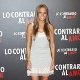 Ana Fernández en el estreno de 'Lo contrario al amor' en Madrid