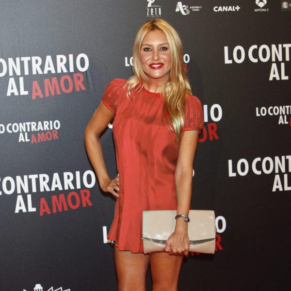 Famosos en el estreno de 'Lo contrario al amor' en Madrid
