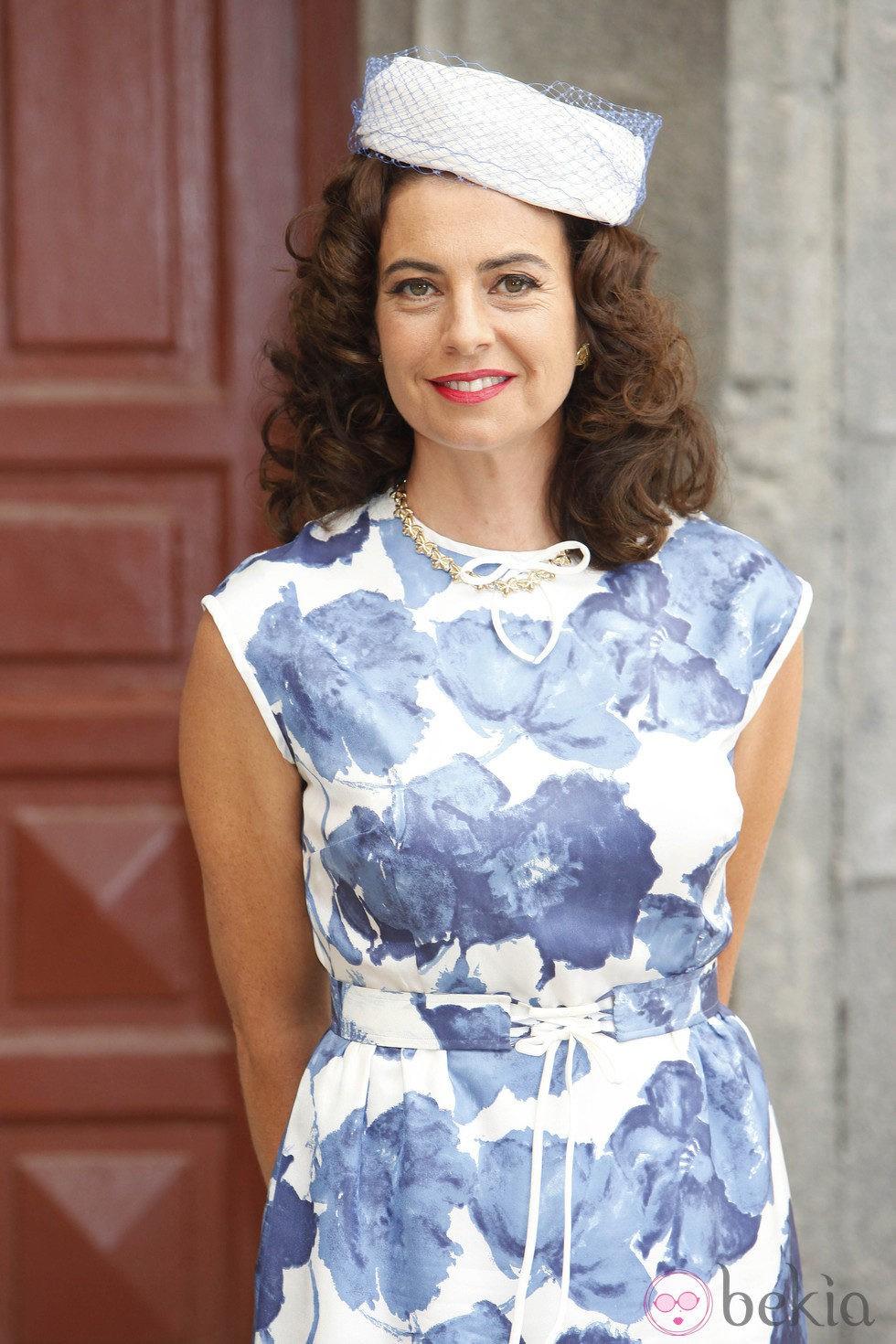 Lola Baldrich en la presentación de la séptima temporada de 'Amar en tiempos revueltos'