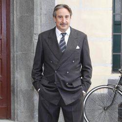 Juanjo Puigcorbé en la presentación de la séptima temporada de 'Amar en tiempos revueltos'