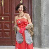 Natalia Millán en la presentación de la séptima temporada de 'Amar en tiempos revueltos'