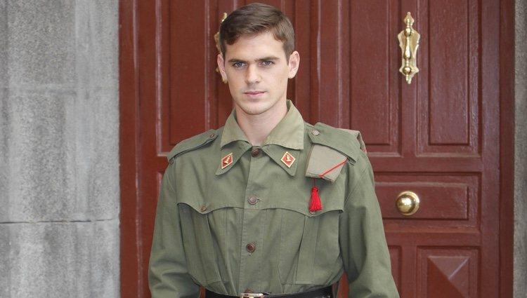Gonzalo Ramos en la presentación de la séptima temporada de 'Amar en tiempos revueltos'