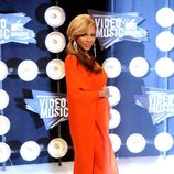 Beyoncé anuncia su embarazo en los MTV Video Music Awards 2011