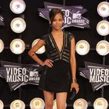 Zoe Saldaña en los MTV Video Music Awards 2011
