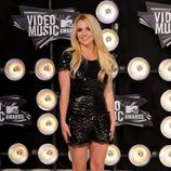 Britney Spears en los MTV Movie Awards 2011
