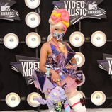Nicki Minaj en los MTV Movie Awards 2011