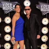 Pitbull en los MTV Video Music Awards 2011